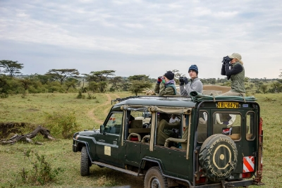 Game drive, Kicheche Bush Camp, Masai Mara