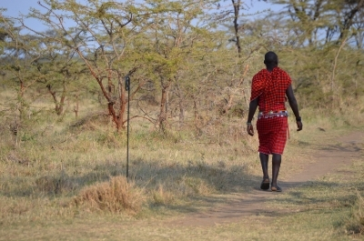 Maasai staffer at Kicheche Bush Camp, Kenya