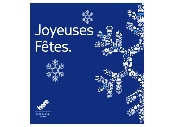 French language card