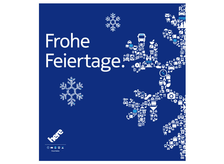 German language card