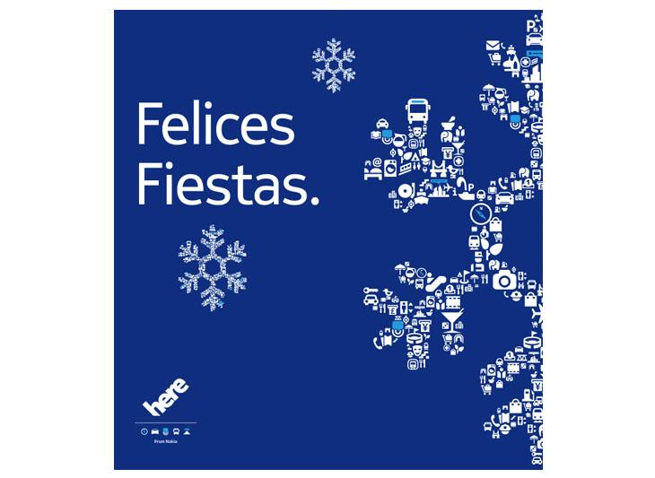 Spanish language card