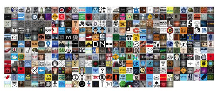 366 squares
