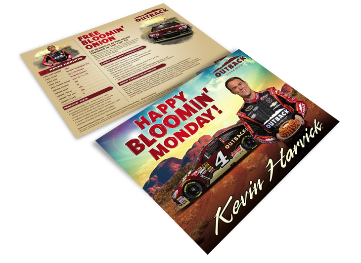 Kevin Harvick Hero Card