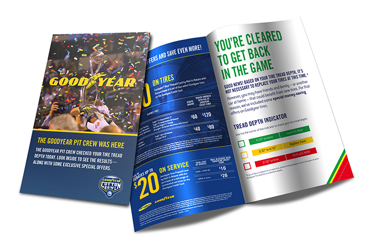 Goodyear Tire Check Tool & Retail Bounce Coupon