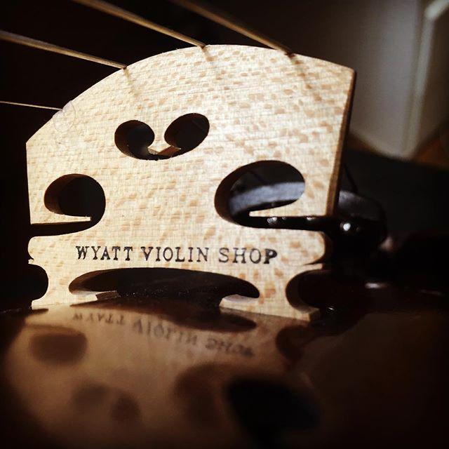 Wyatt Violin Shop Bridge