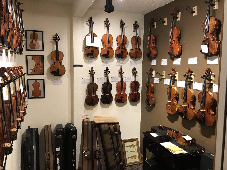 Instruments — Wyatt Violin Shop