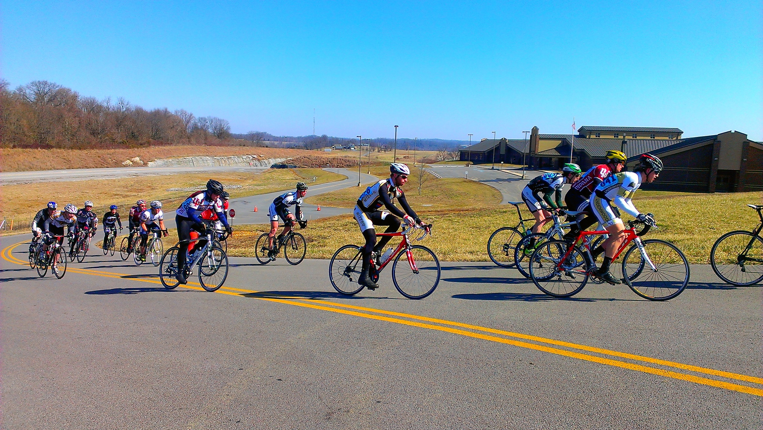 Matt Searcy during the Lindsey Wilson Crit in the spring of 2013
