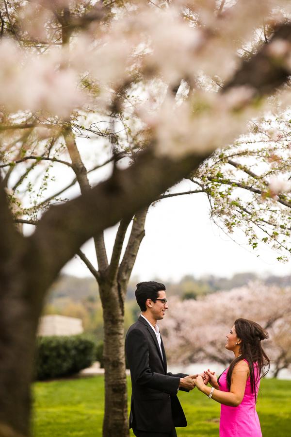 cherry-blossom-engagement-session