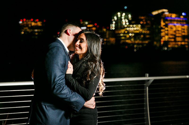 Georgetown-Engagement-Session-at-NIght