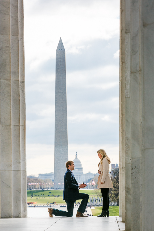 Washington-DC-Lincoln-Memorial-Surprise-Proposal-Photographer