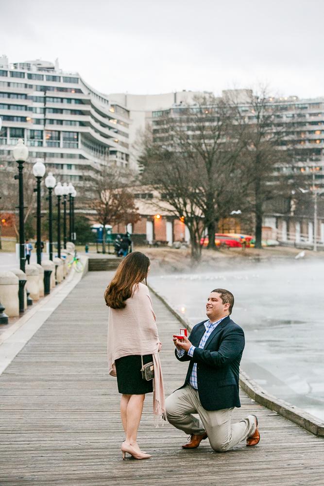 Washington-DC-Georgetown Surprise-Proposal-Photographer
