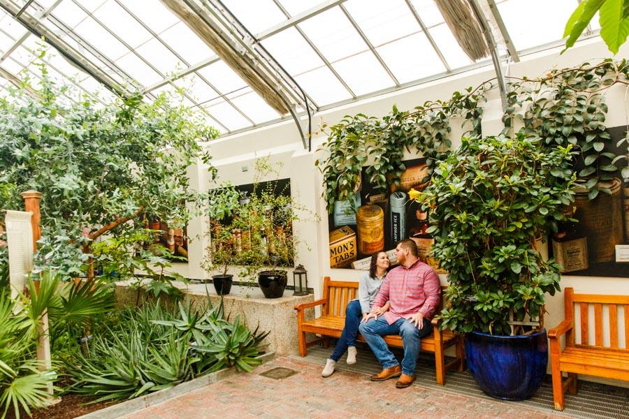 Washington-DC-Botanical-Gardens-Surprise-Proposal-Photography