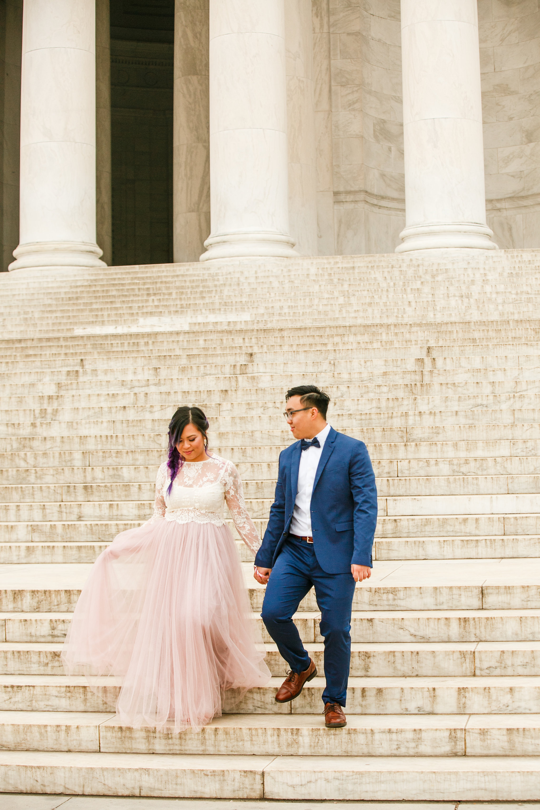 Washington-DC-Jefferson-Memorial-Cherry-Blossom-Engagement-Session