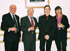 James Ranger, Sir Peter Wright, Liam Scarlett and Lady MacMillan
