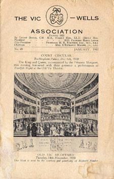 Vic-Wells Newsletter 1951