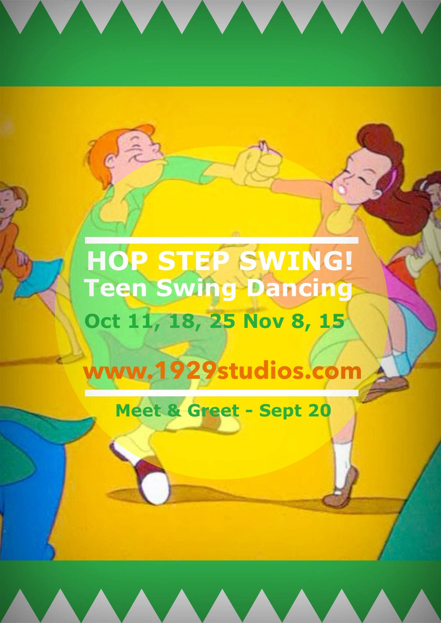 5 wk block in Term 4 --   Saturdays *    Oct 11, 18, 25, Nov 8, 15 -- in 1929's Studio, Collingwood