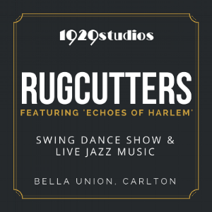 COME... - All the info you need to know about our SHINY STOCKINGS SHOW presented at this months Rugcutters by Echoes of Harlem! You're invited!