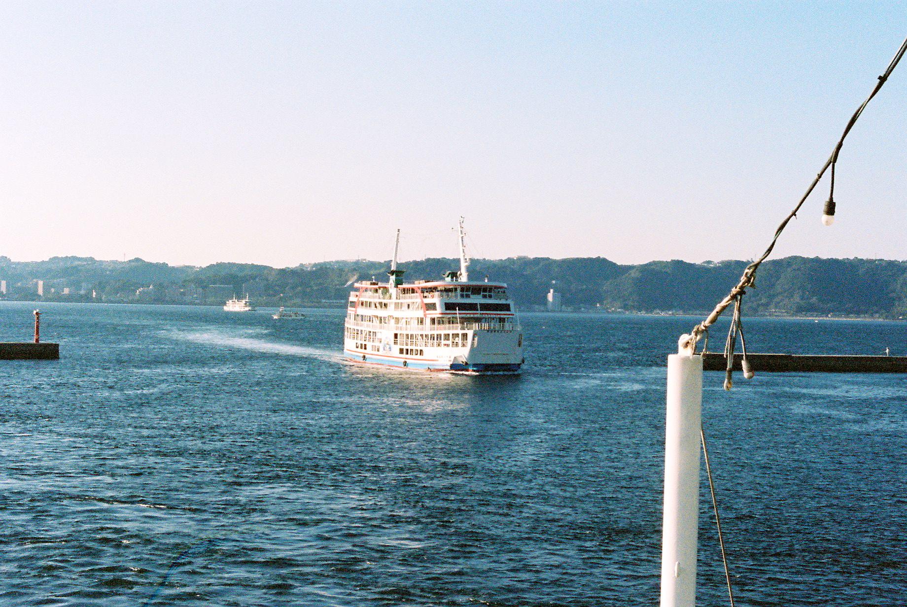 桜島を経由して、福岡に向かいました。