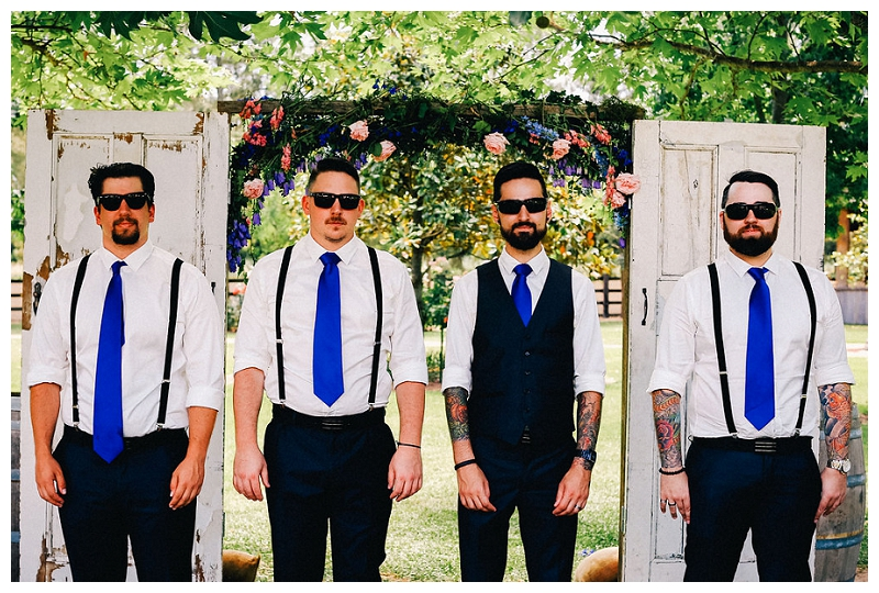 The Groom and Grooms men | | Beka + Con | Sydney Polo Country Club | Photography | Photo Booth | Stop Motion