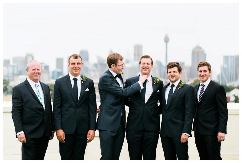 groomsmen photographer sydney centennial park wedding