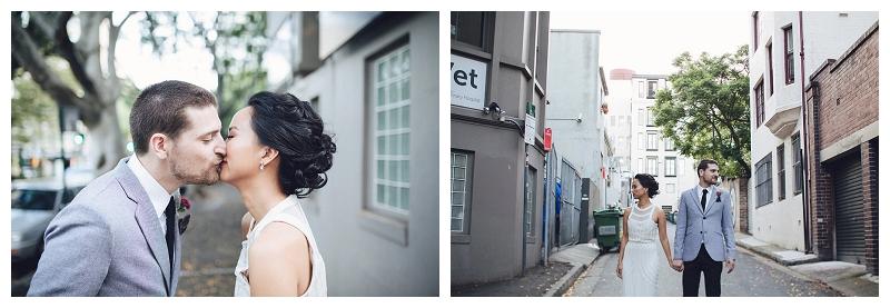 Sydney Wedding Bride and Groom Portraits