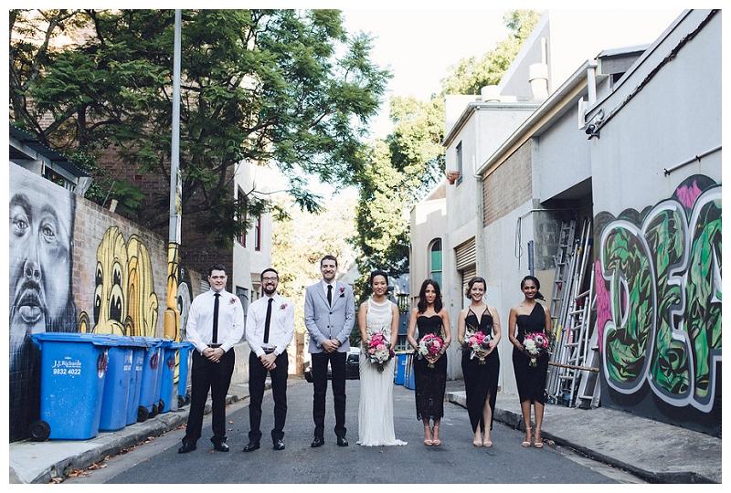 Sydney Wedding Bridal Party Portraits
