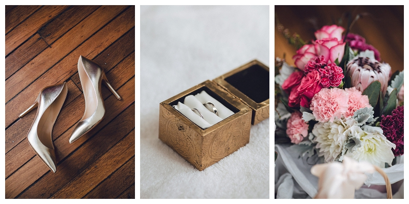 Wedding shoes | flowers
