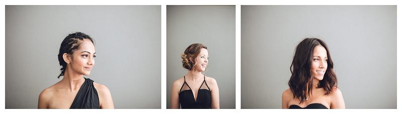 bridesmaids portraits