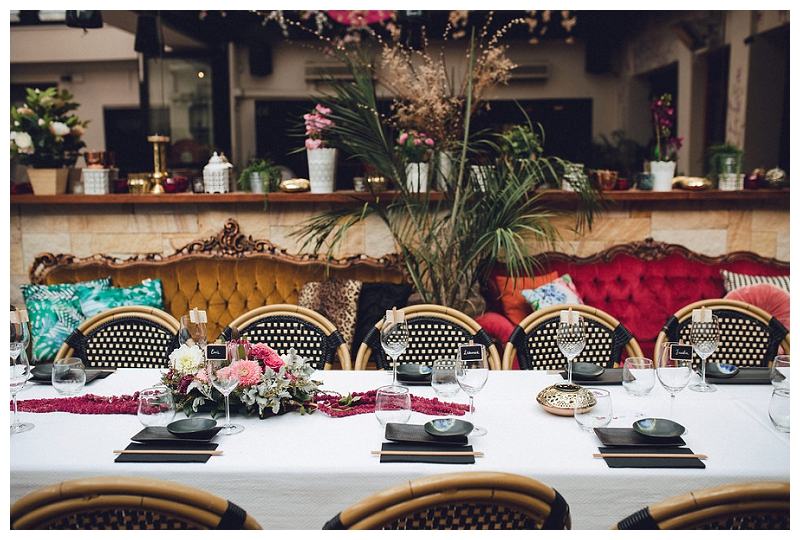 Reception styling  | Sydney Wedding | Crane Bar