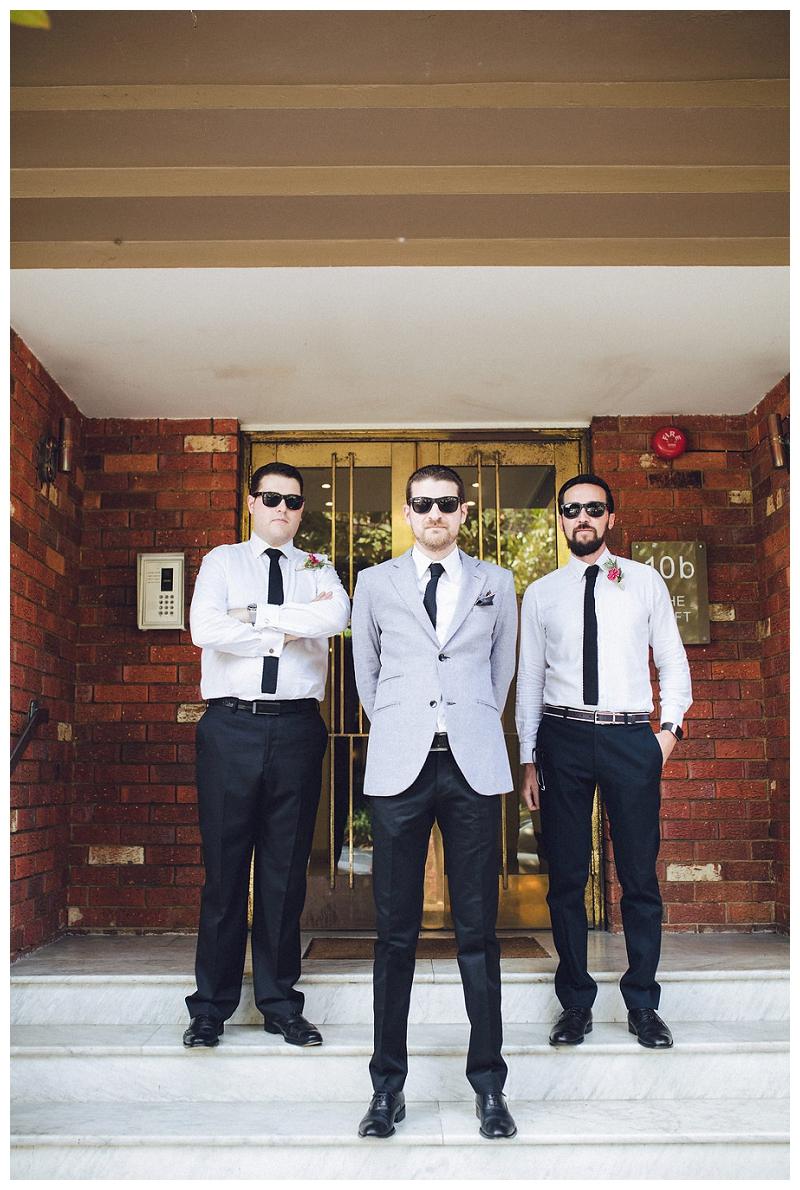 Groom and Groomsmen portraits  | Sydney Wedding