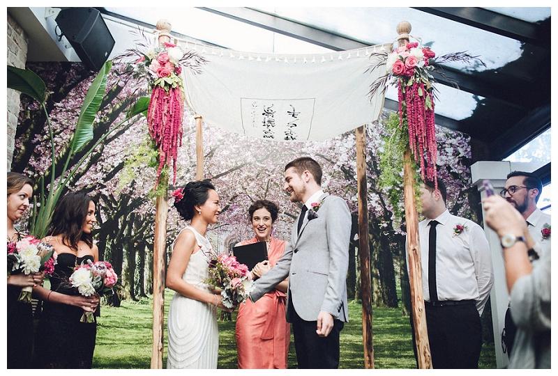 Wedding ceremony | Crane Bar | Sydney Wedding
