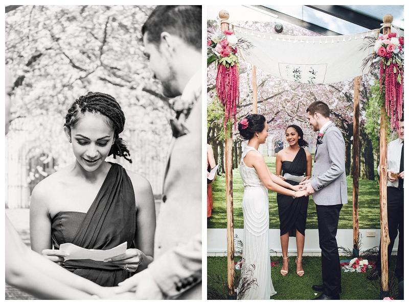 Crane Bar, Sydney Wedding