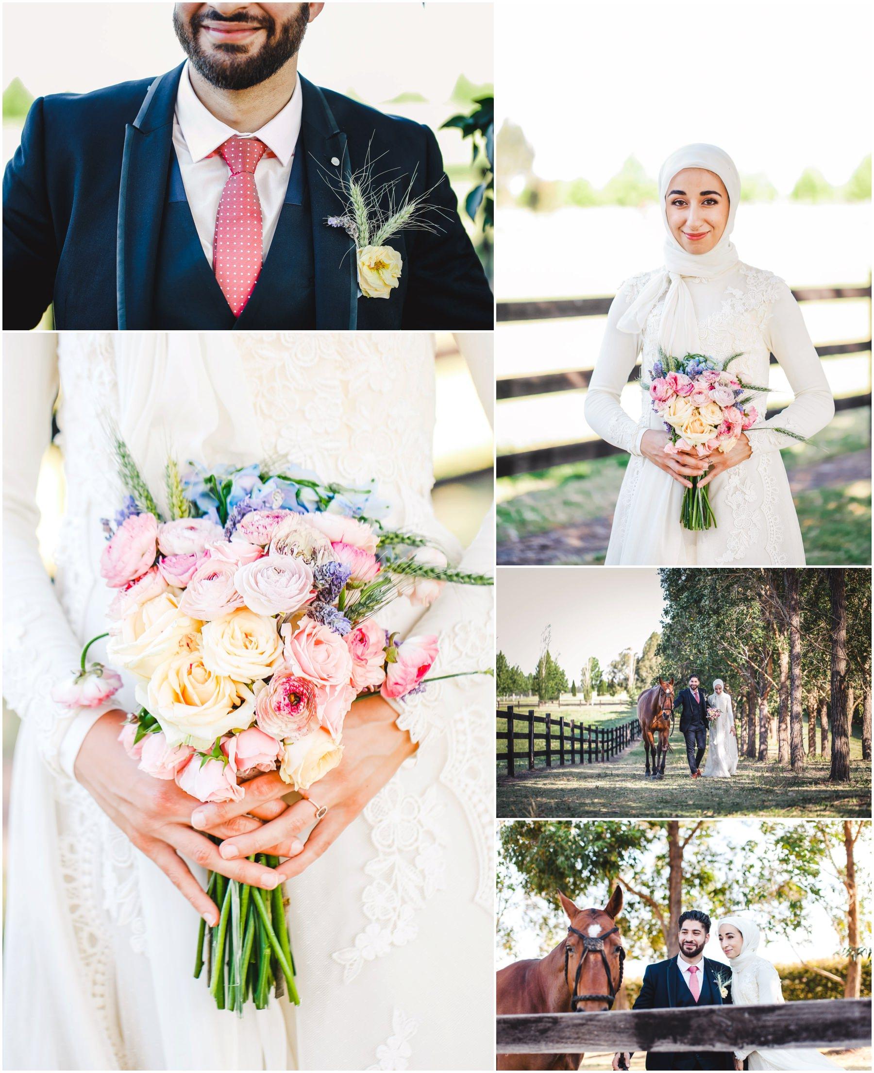 Suzanne + Neema's traditional Muslim wedding at the Sydney