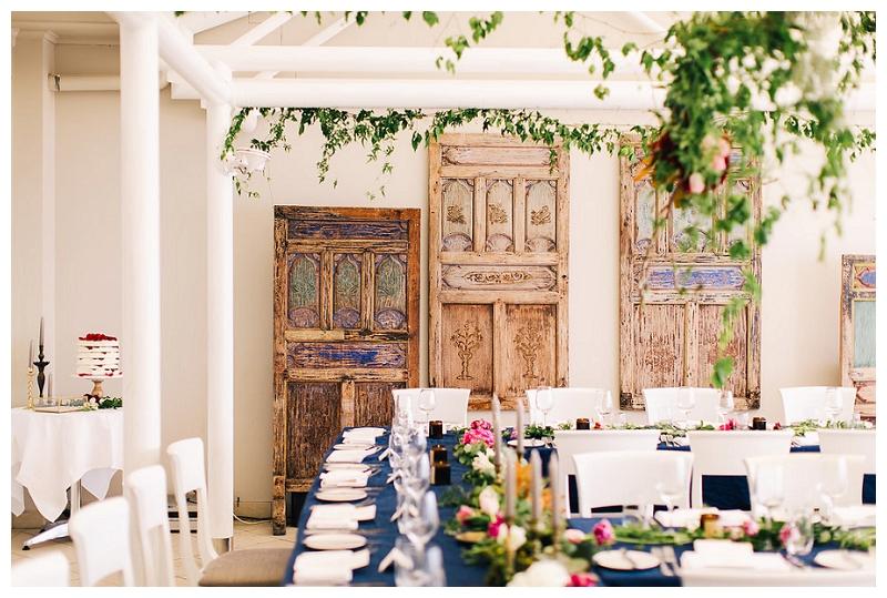 wedding styling | interior design | jonah's whale beach wedding reception photos