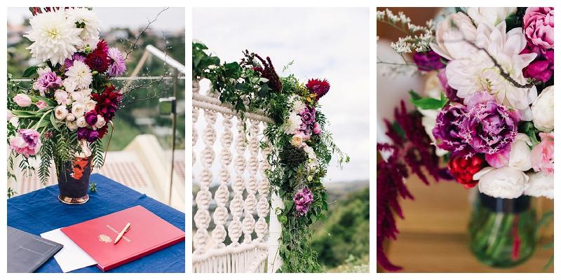 wedding flowers styling