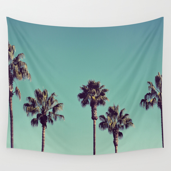palm trees photo booth backdrop