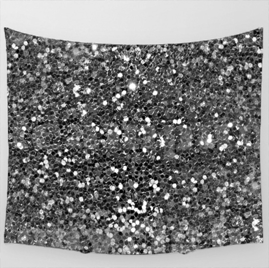 silver glitter photo booth backdrop