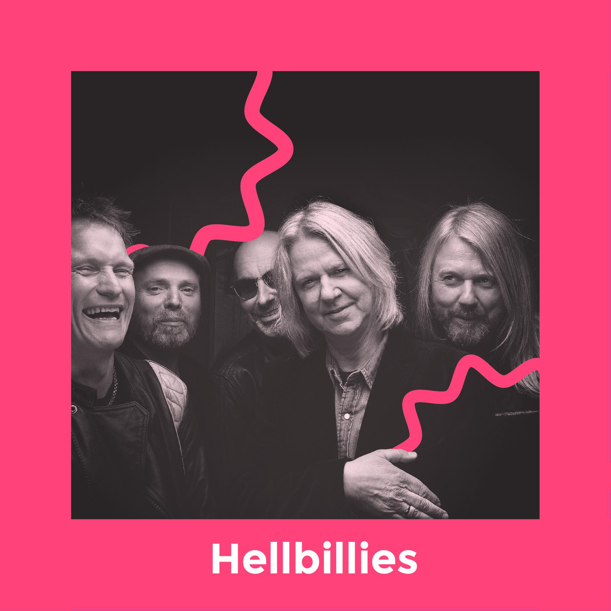 Hellbillies - Hellbillies er eit av Noregs mest suksessrike band. Det seier seg vel sjølv, når dei no legg ut på turnè i sitt 29. aktive år. Og ikkje stoppar det her heller, dei har nemleg planlagt nytt album i 2020 i anledning sitt 30. års jubileum, og det vert det 12. studioalbumet i rekkja. Vi er strålande nøgde med at Hellbillies framleis turar rundt i vårt langstrakte land, og at dei ikkje kun søkjer dei største scenene i Noreg. Tenk så heldige me er, at sjølveste Hellbillies vil stoppe i vesle vene Lærdal i sumar!