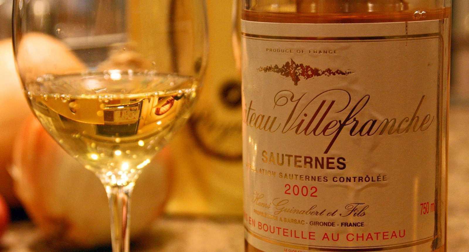 Sauternes Wine  -  image: tourisme-en-france.com