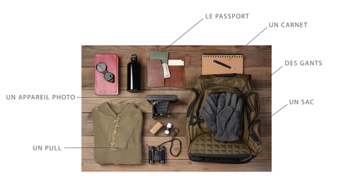 French vocabulary, outdoor gear