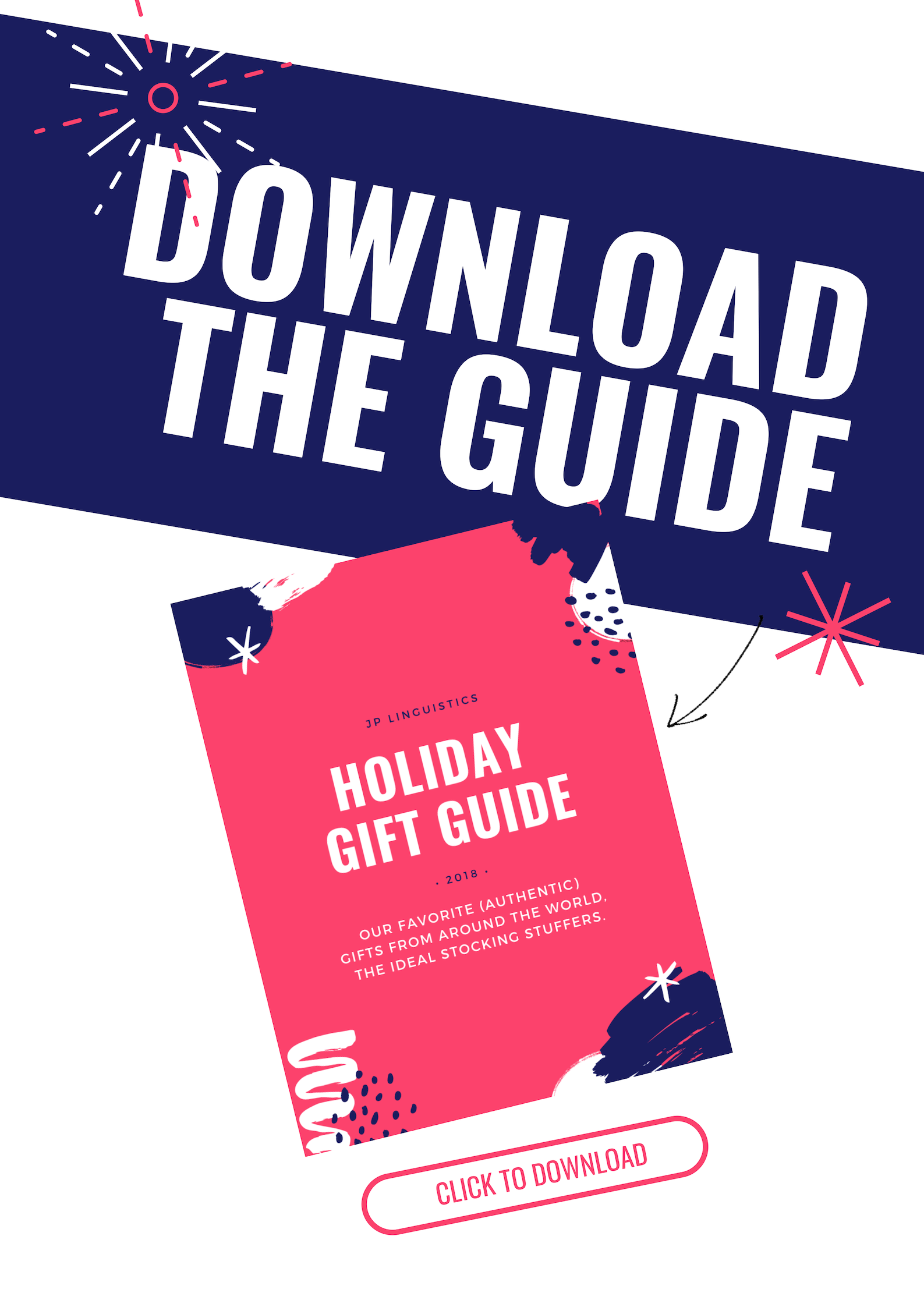 JP Linguistics Holiday Gift Guide 2018