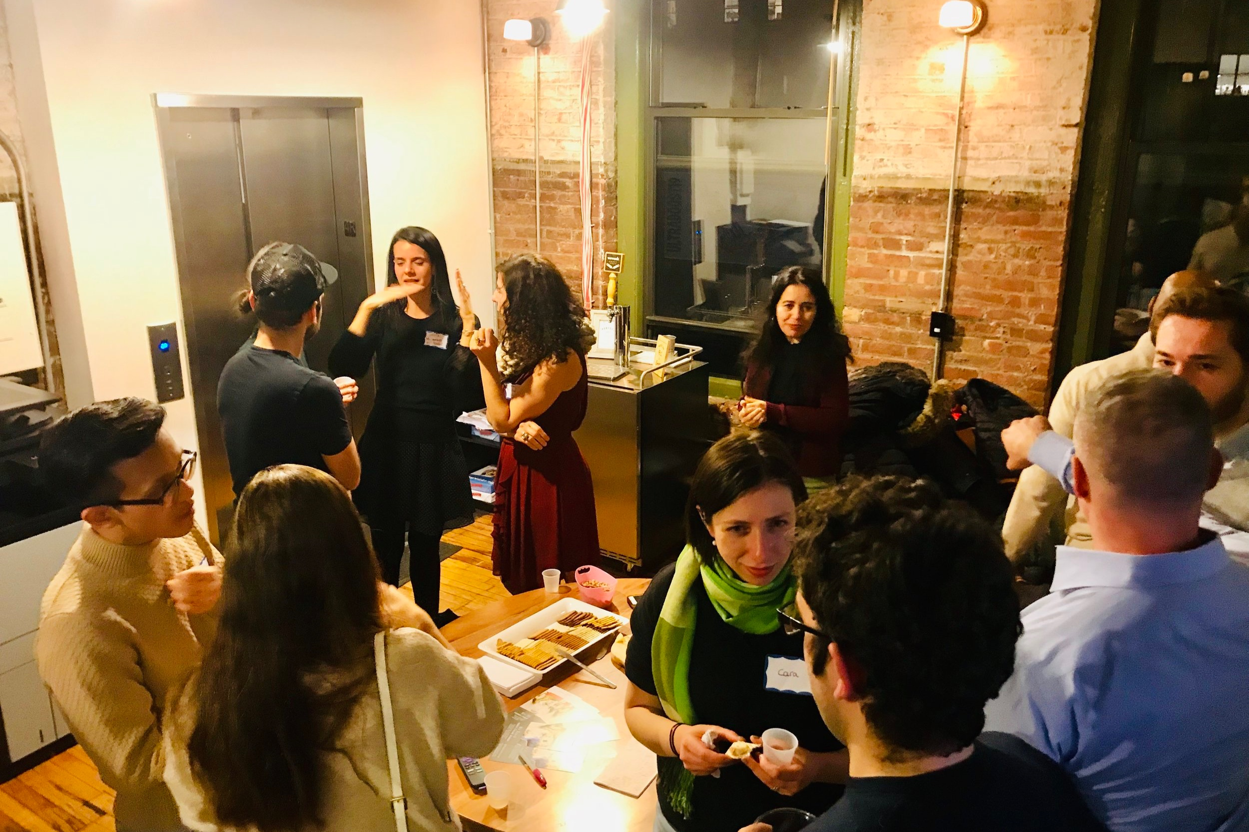 Find Us At WeWork - We are nestled inside one of the leading innovative networking communities in the world, WeWork! Inside each classroom, you will find a cozy space that can be accompanied by a warm cup of tea!