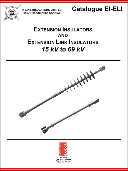 Chapter 4 Extension Insulators and Extension Link Insulators Cat EI & ELI