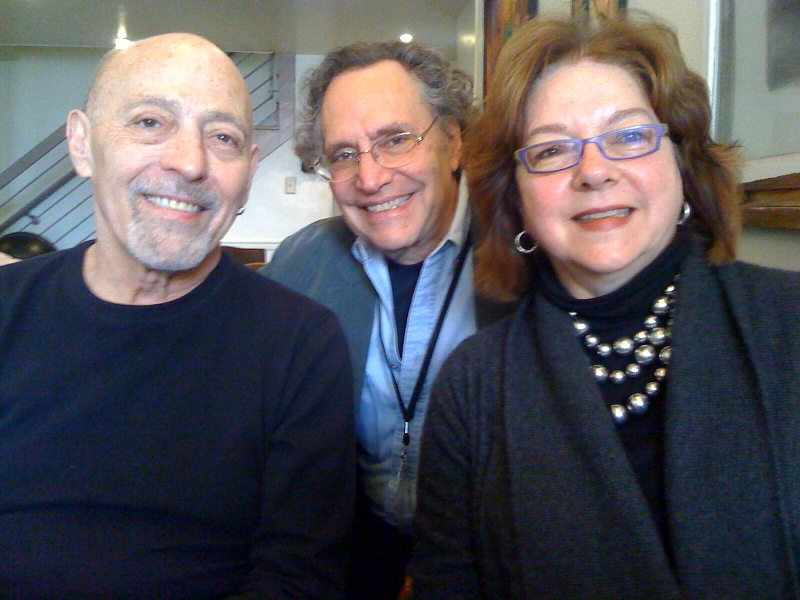 Jenny Rohrer, Kartemquin Founders Jerry Blumenthal and Gordon Quinn at the Big Sky Documentary Film Festival