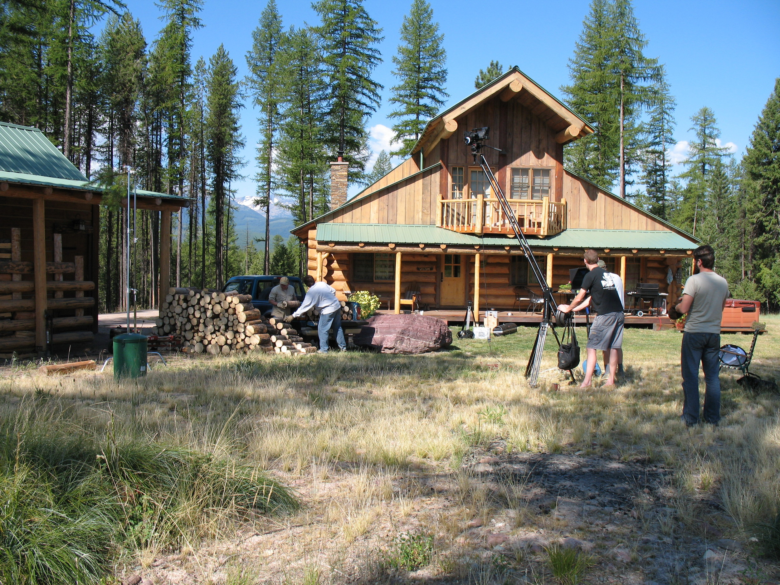 Burn-Wise Video Series in Production at Rohrer homestead