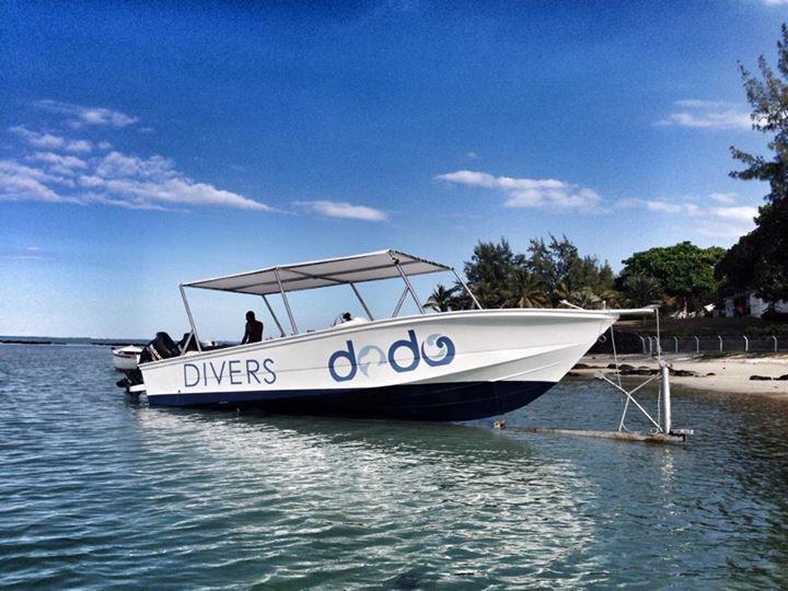Dodo Divers barca veloce a Mauritius