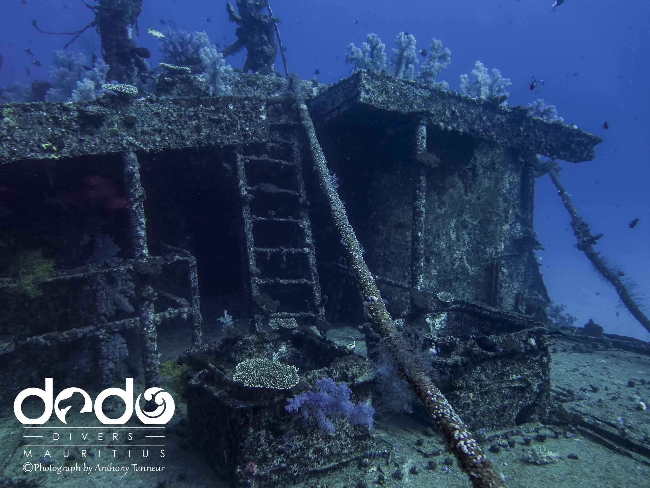 Djabeda Wreck at Coin de Mire Island