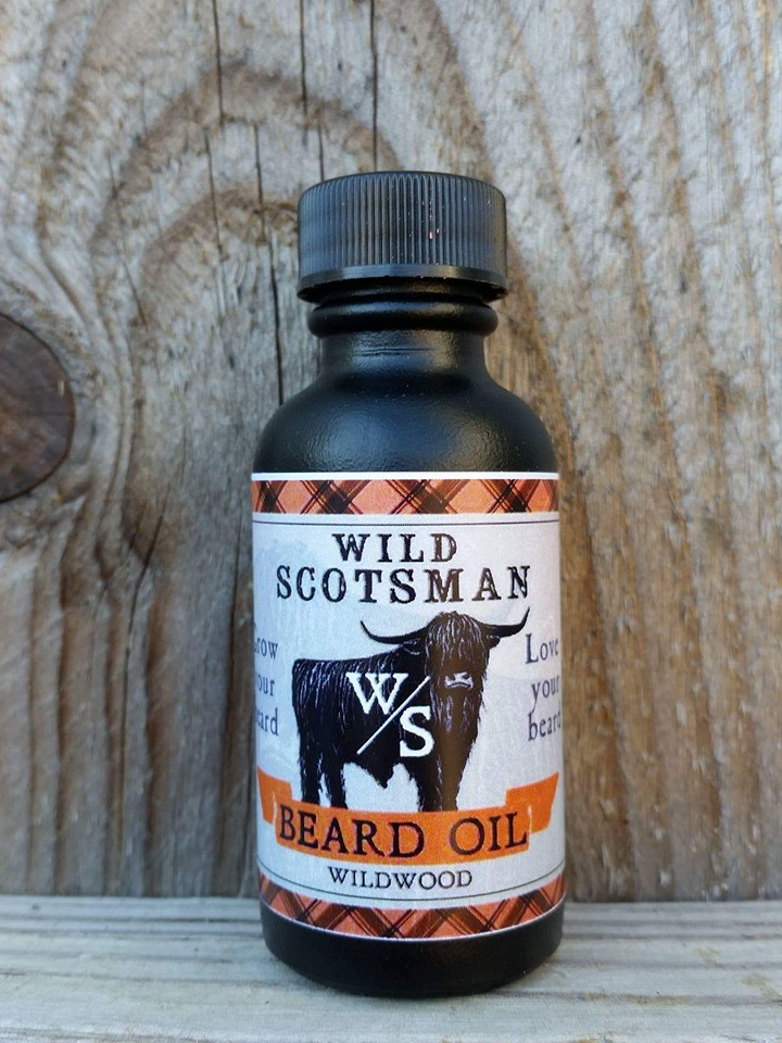 Wild Scotsman beard oil
