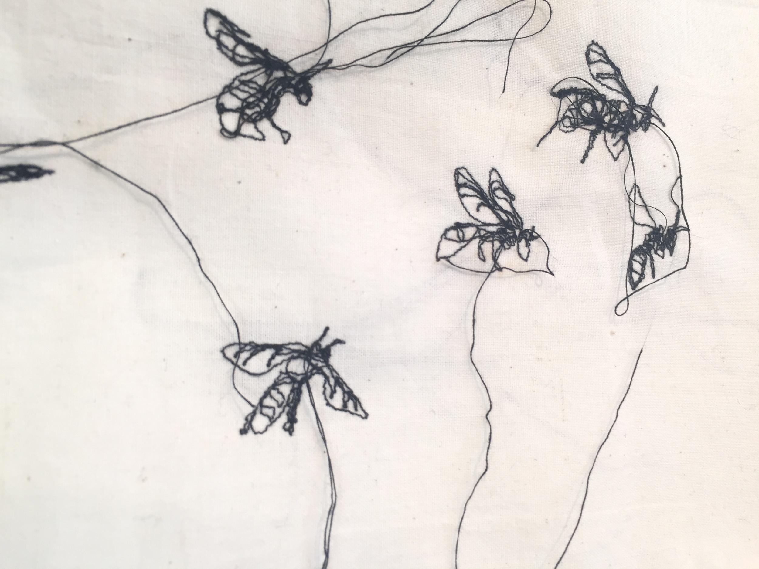 Swarm (detail), 2016