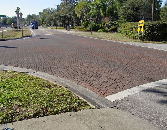 Traffic Markings - Streetprinting/Asphalt Stamping
